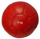 Piłka lekarska skórzana VMB-R003L10P 3kg