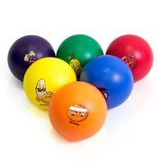 Piłki piankowe Owoce komplet 6szt. UA971-6C