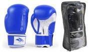 Rękawice bokserskie SMJ Hawk Blue 2016