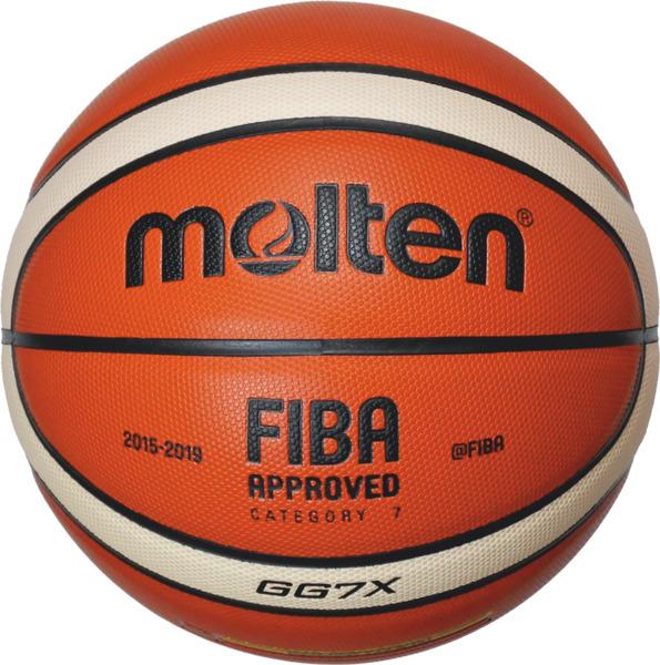 BGG7X-X Piłka do koszykówki Molten FIBA