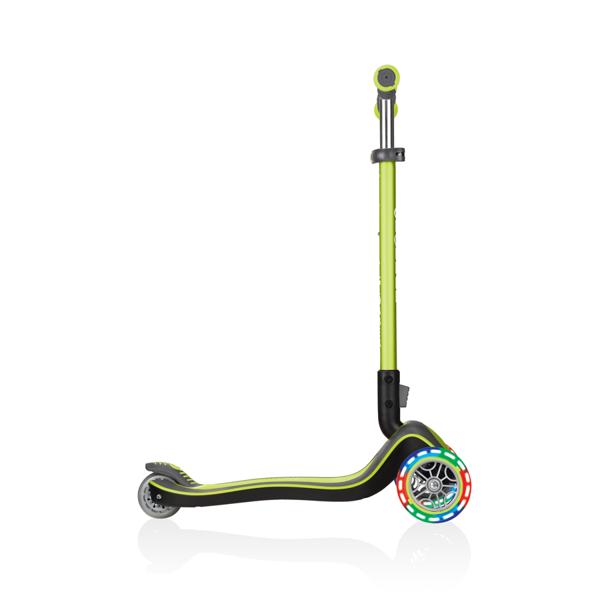 Hulajnoga 3-kołowa Globber Elite Deluxe 444-406 lime green