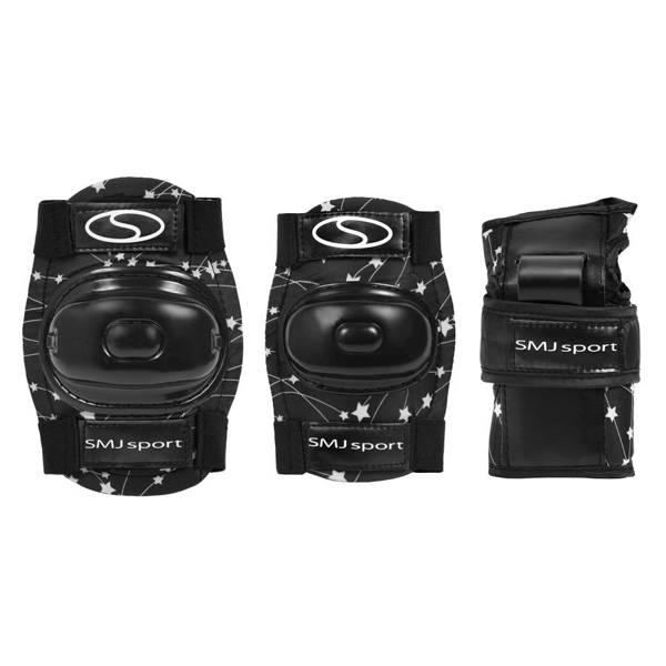Ochraniacze dla dzieci, komplet CR-600 czarne