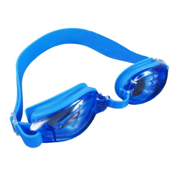 Okularki pływackie SMJ Sport G-300 Jr. niebiesko-niebieskie